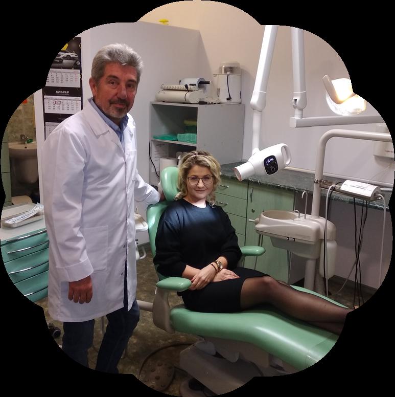 Lekarz stomatolog Artur Zatorski i jego gabinet